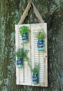 Upcycled Home and Garden Products with a past